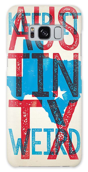 Austin Texas - Keep Austin Weird Galaxy Case