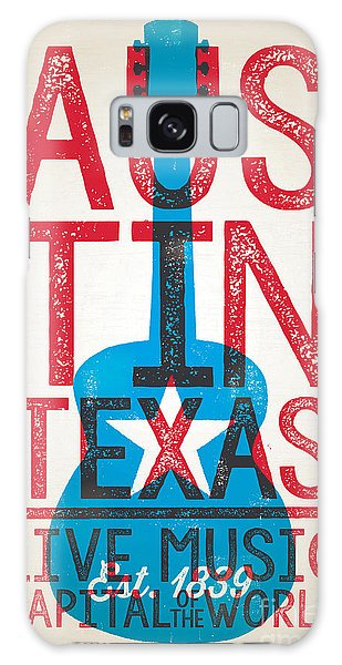 Poster Galaxy Case - Austin Poster - Texas - Live Music by Jim Zahniser