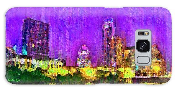 Austin Texas Skyline 104 - Da Galaxy Case