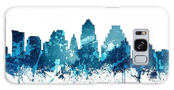 Austin Texas Skyline 19 Galaxy Case by Aged Pixel