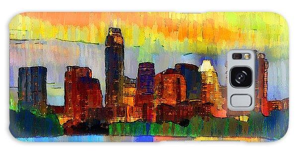 Austin Texas Skyline 211 - Da Galaxy Case