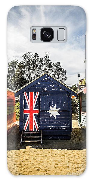 Shed Galaxy Case - Australia Bathing Boxes by Jorgo Photography - Wall Art Gallery