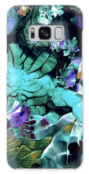 Australian Emerald Begonias Galaxy Case