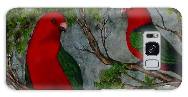 Australian King Parrot Galaxy Case by Renate Voigt
