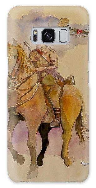 Australian Light Horse Regiment. Galaxy Case by Ray Agius