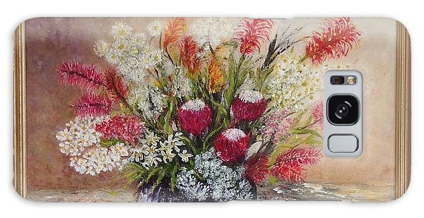 Australian Natives Galaxy Case by Renate Voigt
