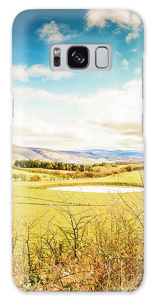 Countryside Galaxy Case - Australian Open Spaces  by Jorgo Photography - Wall Art Gallery