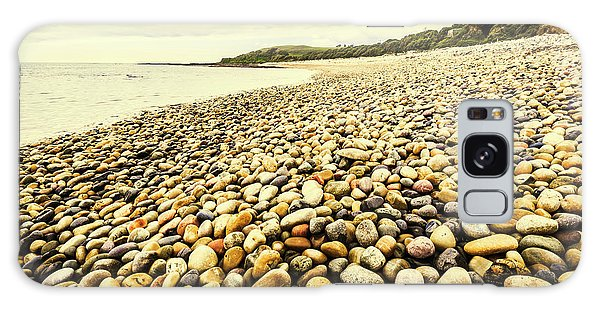 Stone Wall Galaxy Case - Australian Rocky Shoreline by Jorgo Photography - Wall Art Gallery