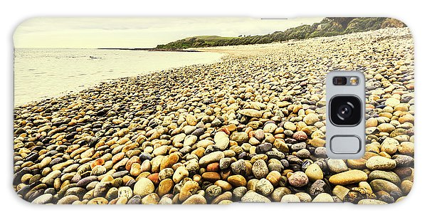 Seashore Galaxy Case - Australian Rocky Shoreline by Jorgo Photography - Wall Art Gallery