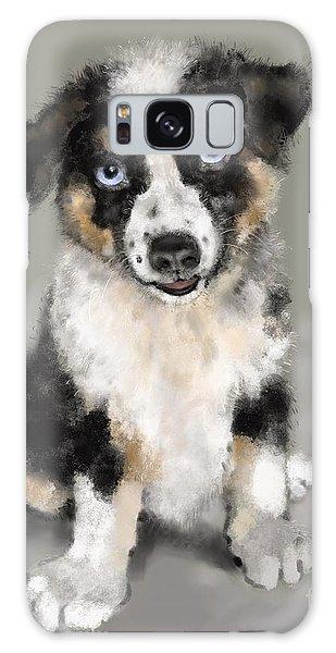 Australian Shepherd Pup Galaxy Case