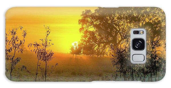 Australian Sunrise Galaxy Case
