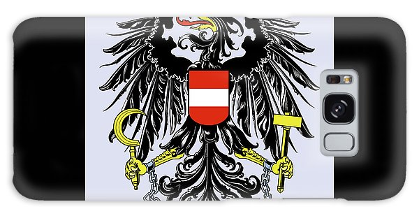 Austria Coat Of Arms Galaxy Case by Movie Poster Prints