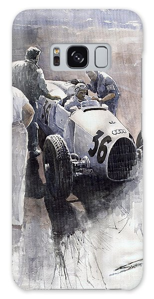 Sport Car Galaxy Case - Auto Union B Type 1935 Italian Gp Monza B Rosermeyer by Yuriy Shevchuk