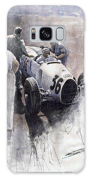 Sports Galaxy Case - Auto Union B Type 1935 Italian Gp Monza B Rosermeyer by Yuriy Shevchuk