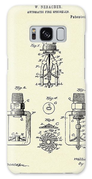 Collectibles Galaxy Case - Automatic Fire Sprinkler-1888 by Pablo Romero