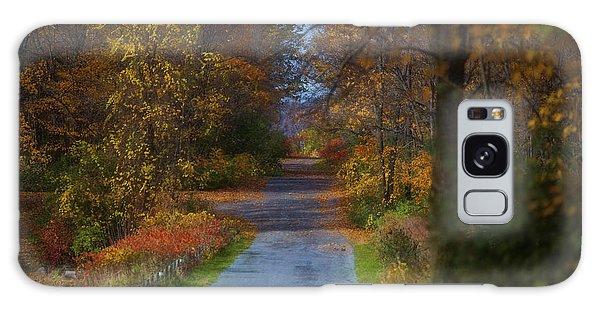 Autumn Wanderings Galaxy Case