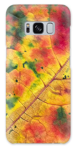 Autumn Abstract Galaxy Case