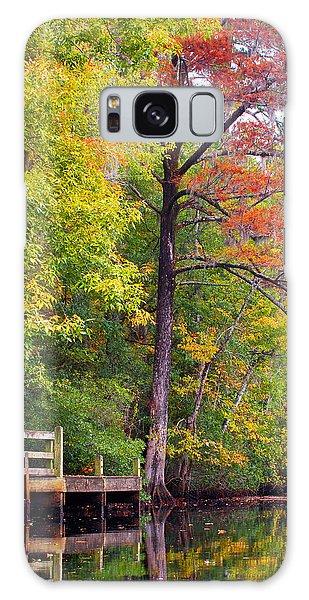Autumn Along Brices Creek Galaxy Case