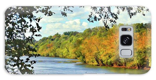Autumn Along The New River - Bisset Park - Radford Virginia Galaxy Case
