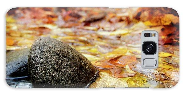 Autumn Along The Oconaluftee River Galaxy Case