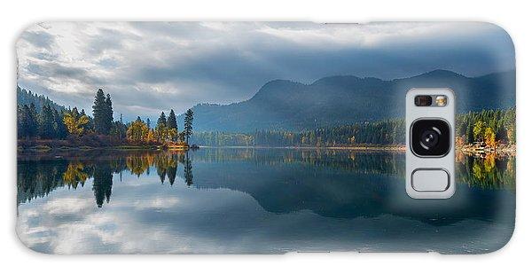 Autumn Along The Pend Oreille River Galaxy Case