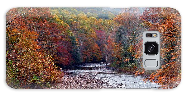 Autumn Along Williams River Galaxy Case