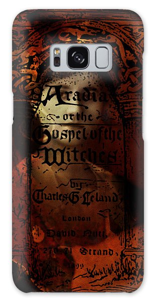 Autumn Aradia Witches Gospel Galaxy Case by Rebecca Sherman