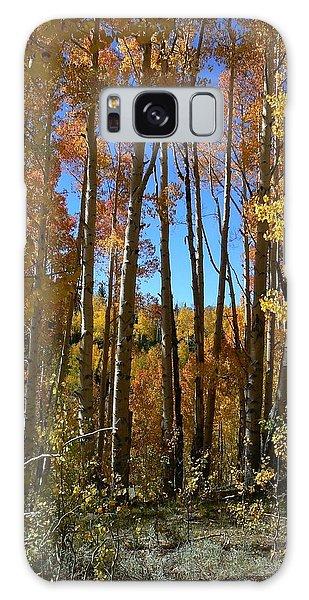 Autumn Aspen Grove Dixie National Forest Utah Galaxy Case