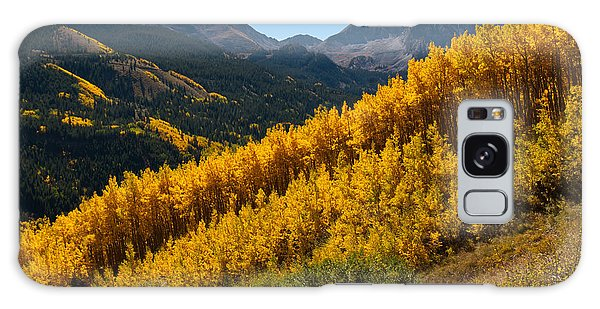 Autumn Aspen Near Castle Creek Galaxy Case