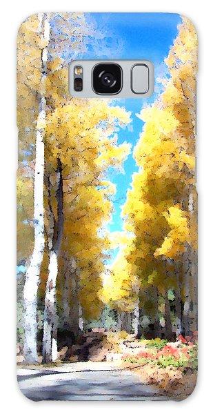 Autumn Aspens Galaxy Case