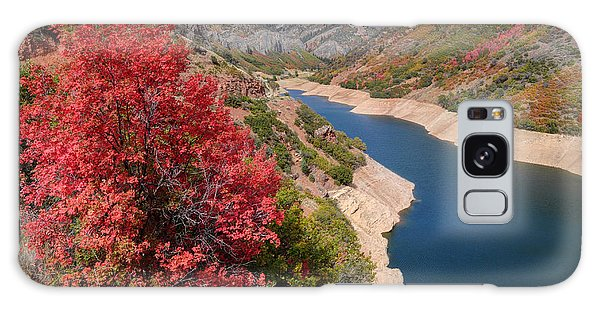 Autumn At Causey Reservoir - Utah Galaxy Case