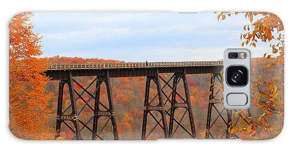 Autumn At Kinzua Bridge Galaxy Case