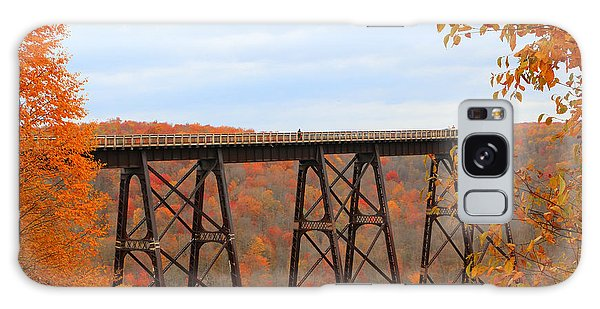 Autumn At Kinzua Bridge Galaxy Case