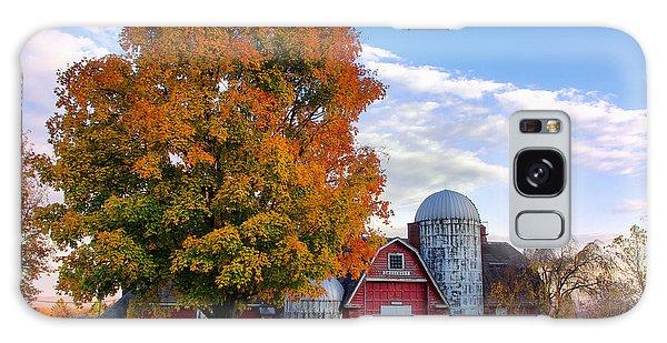 Autumn At Lusscroft Farm Galaxy Case