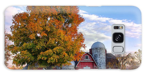 Autumn At Lusscroft Farm Galaxy Case