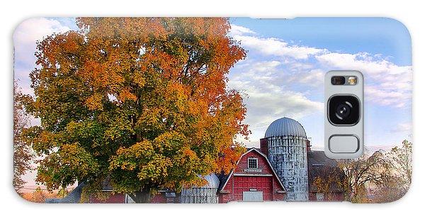 Autumn At Lusscroft Farm Galaxy Case by Mark Miller