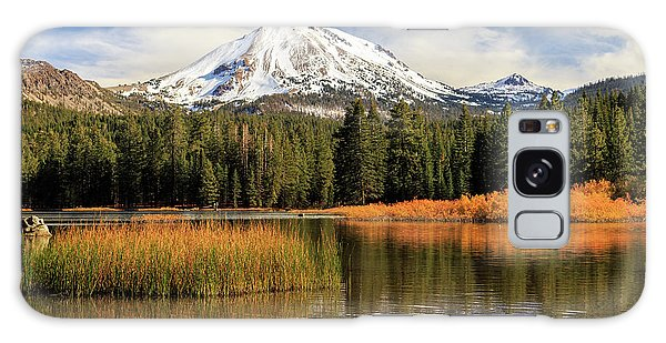 Autumn At Mount Lassen Galaxy Case