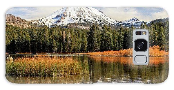 Autumn At Mount Lassen Galaxy Case by James Eddy