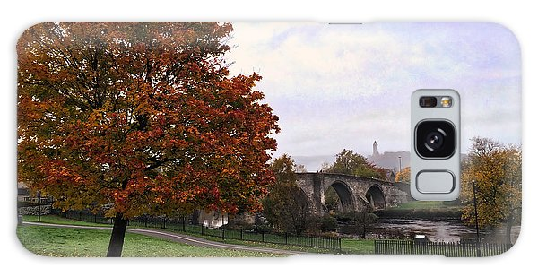 Autumn At Stirling Bridge Galaxy Case by RKAB Works