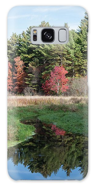 Autumn At The River Galaxy Case