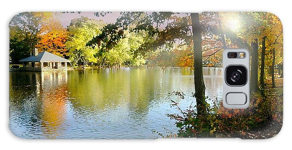 Autumn At Tilley Pond Galaxy Case