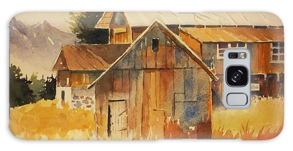 Autumn Barn And Sheds Galaxy Case