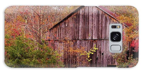 Autumn Barn Galaxy Case