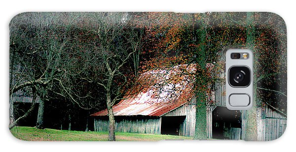 Autumn Barn In Alabama Galaxy Case