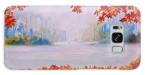 Autumn Blaze Maple Trees Galaxy Case