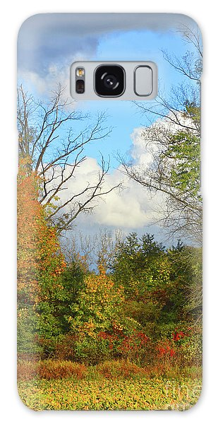 Autumn Breeze Nature Art Galaxy Case