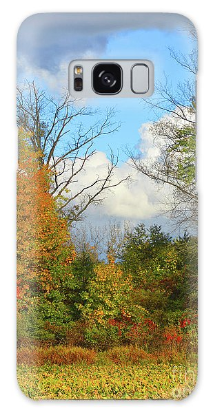 Autumn Breeze Nature Art Galaxy Case