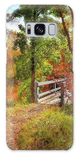 Autumn Bridge Galaxy Case