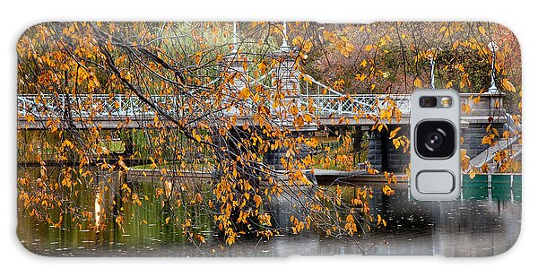 Autumn Bridge Galaxy Case by Susan Cole Kelly