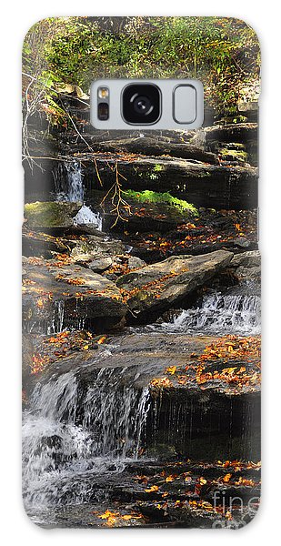 Autumn Brook Galaxy Case by Diane E Berry